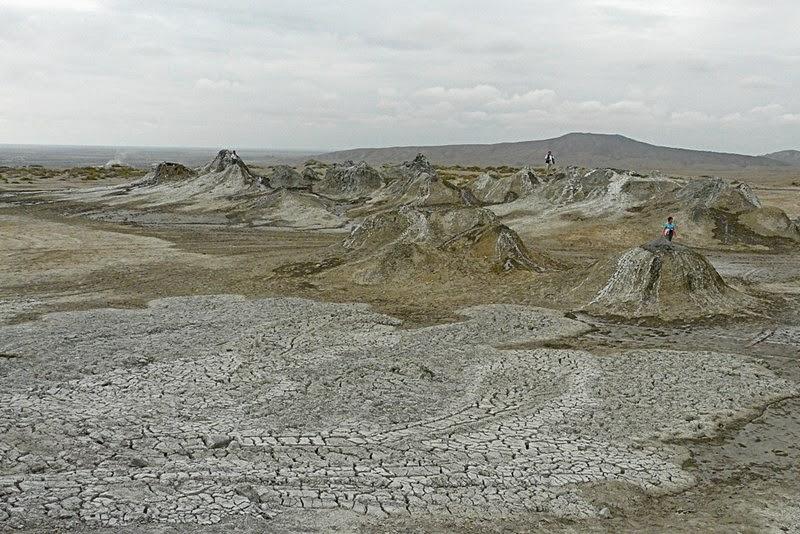 Gobustan Mud Volcano, Azerbaijan