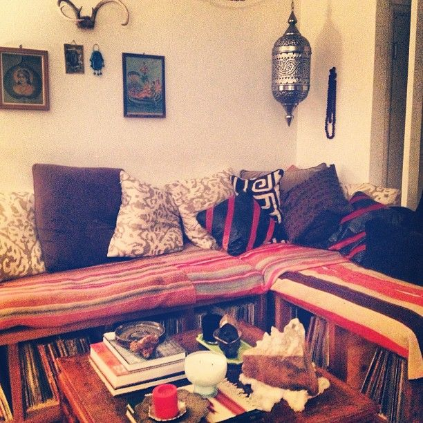 White Wolf Bohemian Bohemian Gypsy Living Room