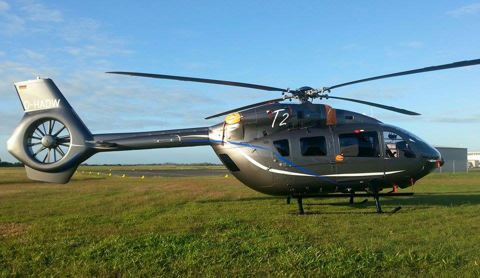 Elicottero H145 : Central queensland plane spotting airbus helicopters h
