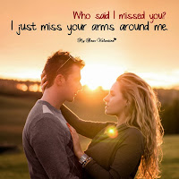 I Miss Your Arms Around Me Love Picture Quotes