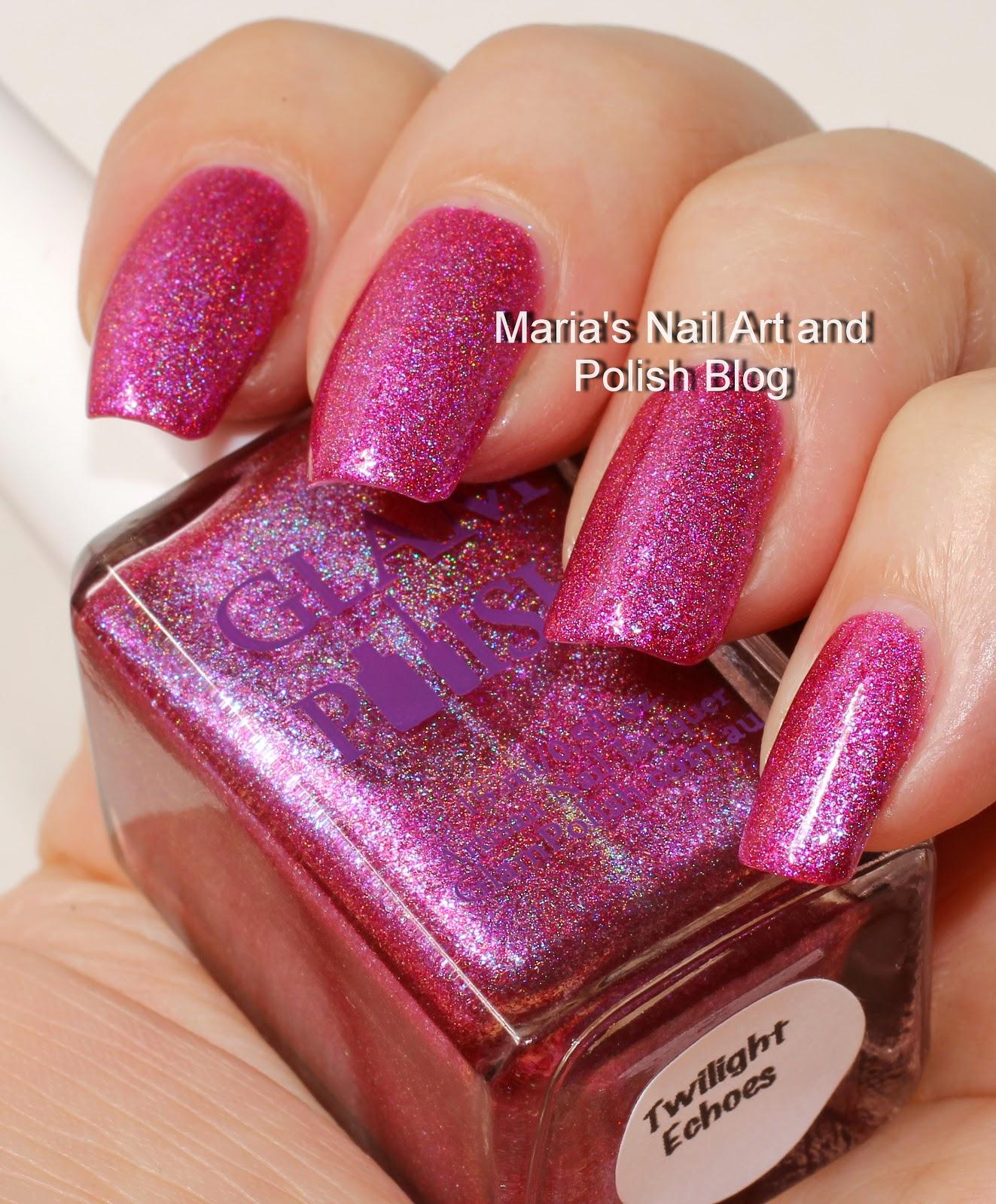 Marias Nail Art And Polish Blog Glam Polish Twilight Echoes Swatches