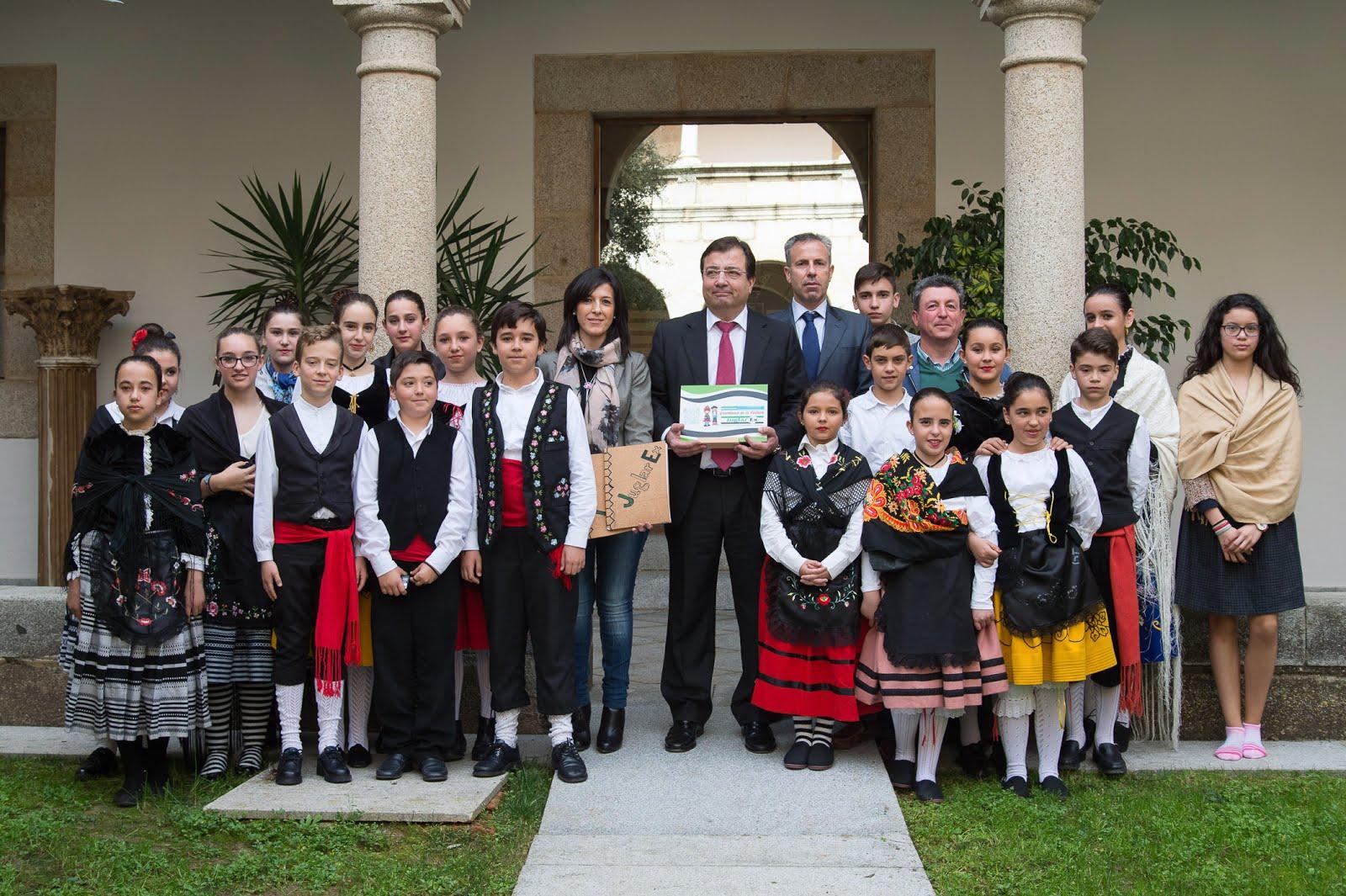 Reconocimiento del Gobierno de Extremadura