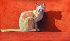 my CatArt greeting cards--