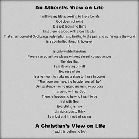 atheist+vs.+christian creative minority report atheist viewpoint vs christian viewpoint