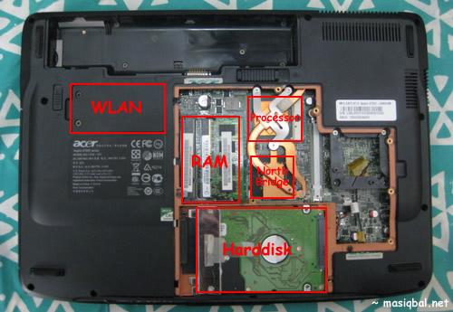 Upgrade Hardisk Notebook Laptop