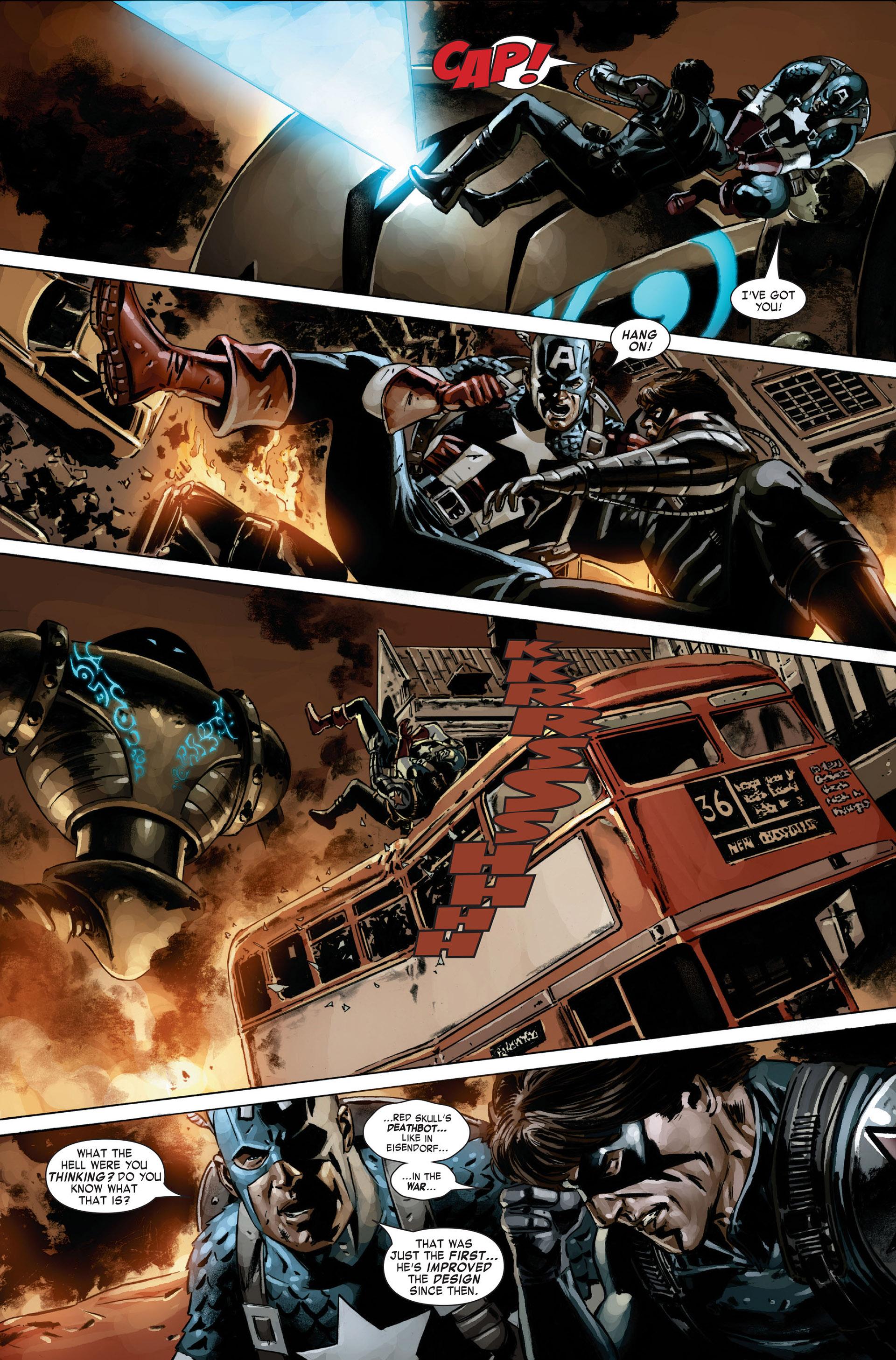 Captain America (2005) Issue #21 #21 - English 9