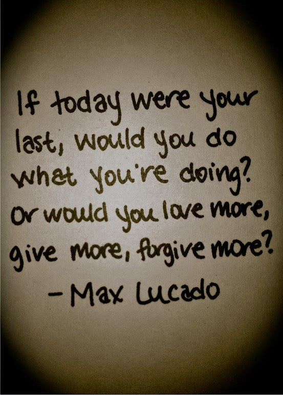Max Lucado quote, OLW, one little word, motivational quote