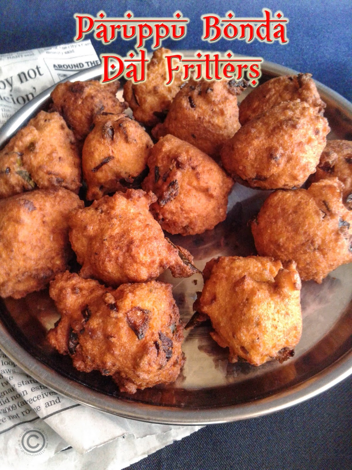 dal-fritters