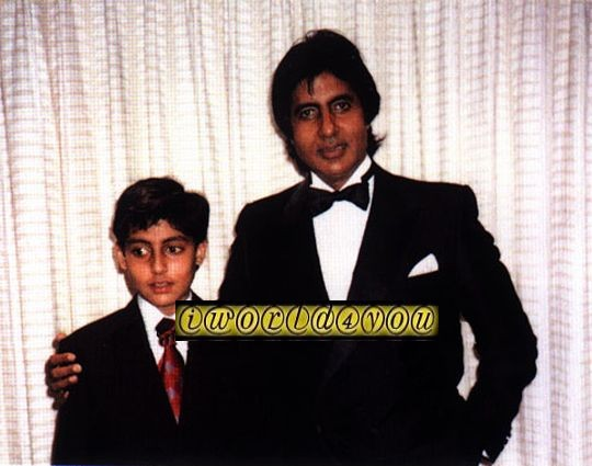 Abhishek Bachchan Childhood Pictures