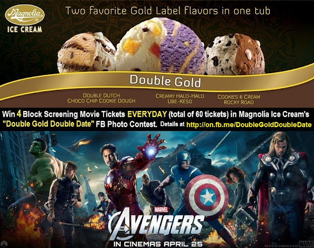 The Avengers Movie with Magnolia Ice Cream