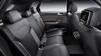 Volkswagen CrossBlue Coupé SUV Concept back interior