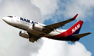 NAM Air, Boeing 737-524. ZonaAero