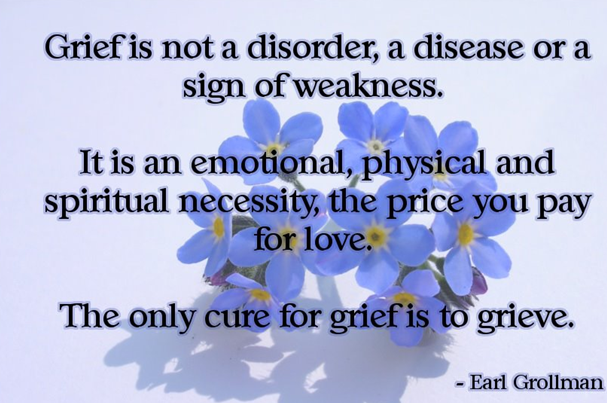gallery for quotes on grief and loss inspirational