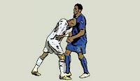 pengertian sepak bola (kartu merah zinedine zidane)