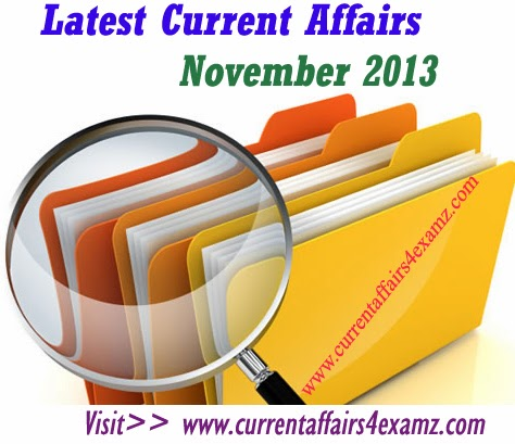NOVEMBER CURRENT AFFAIRS 2013 EBOOK DOWNLOAD