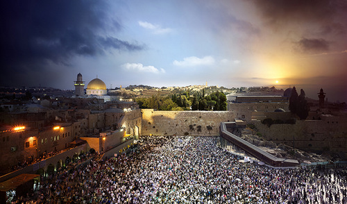 03-Stephen-Wilkes-day-to-night-fine-art-photography-Western-Wall-Jerusalem