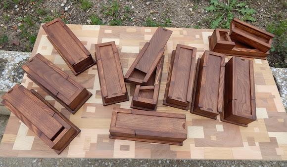 El encanto de los PLUMIERES de madera