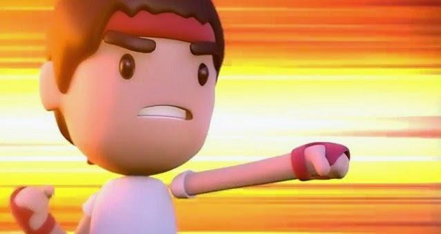 Ryu de Street Fighter listo para pelear