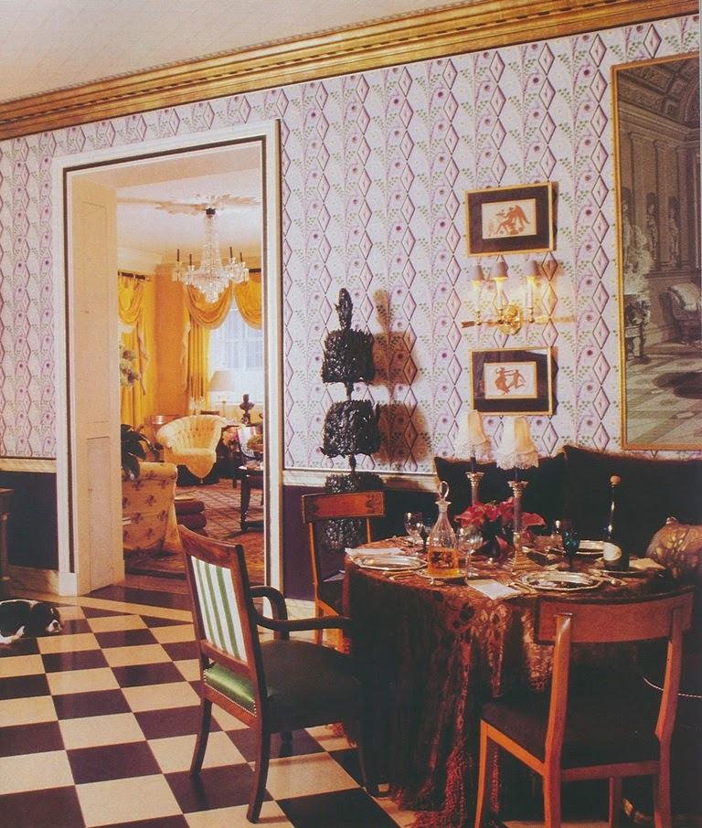 the dining room - Sister Parrish
