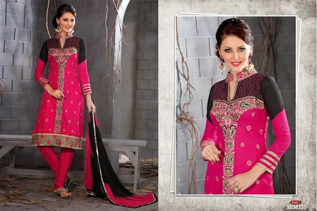 Online Exclusive Designer Embroidery Salwar Kameez