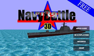 Screenshots of the Navy Battle 3D for Android tablet, phone.