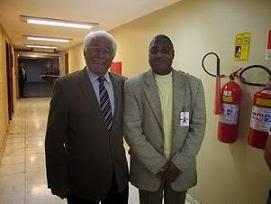 Jornalista: Nelson Silva e o Ex.Governador Gaúcho Alceu de Deus Collares