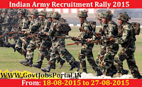 INDIAN ARMY RECRUITMENT RALLY 2015