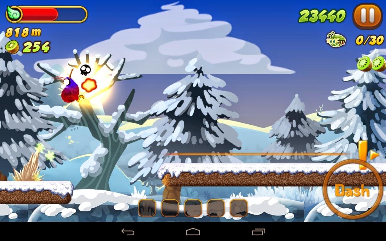 Kiwi Dash, un juego de plataformas para ios y android