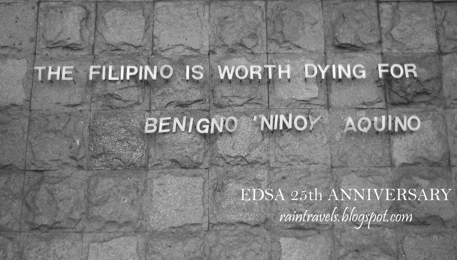 reaction paper edsa revolution anniversary I had gotten a hold of a white paper written by our professors on our  as we  celebrate the anniversary of the edsa revolution, we are called.