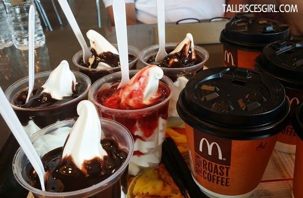 Not enough? Grab some coffees and sundaes too!
