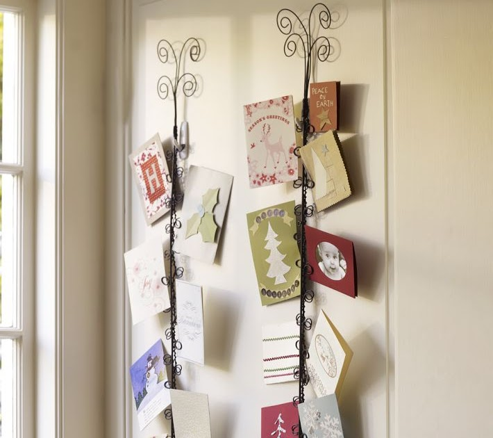 Crafty Betties: DIY Pottery Barn Holiday Card Holder