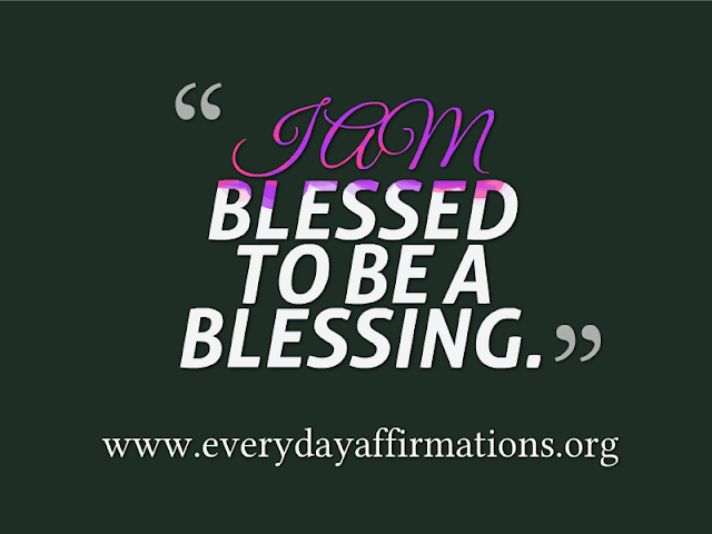 Daily Affirmations - 15 August 2013