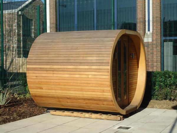 Shedworking hudson garden rooms pods for Outdoor pod room