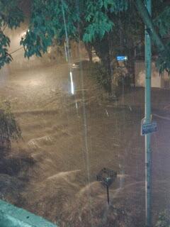 Así empezó la inundación del 2 de abril