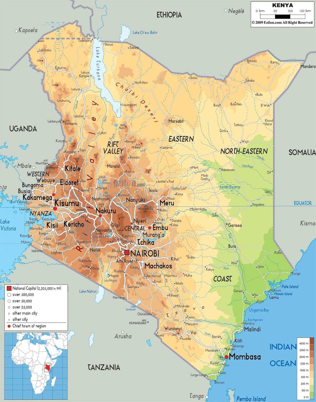ANTHROPOLOGY OF ACCORD Map on Monday KENYA