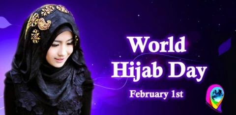 Support World Hijab Day, February 1st