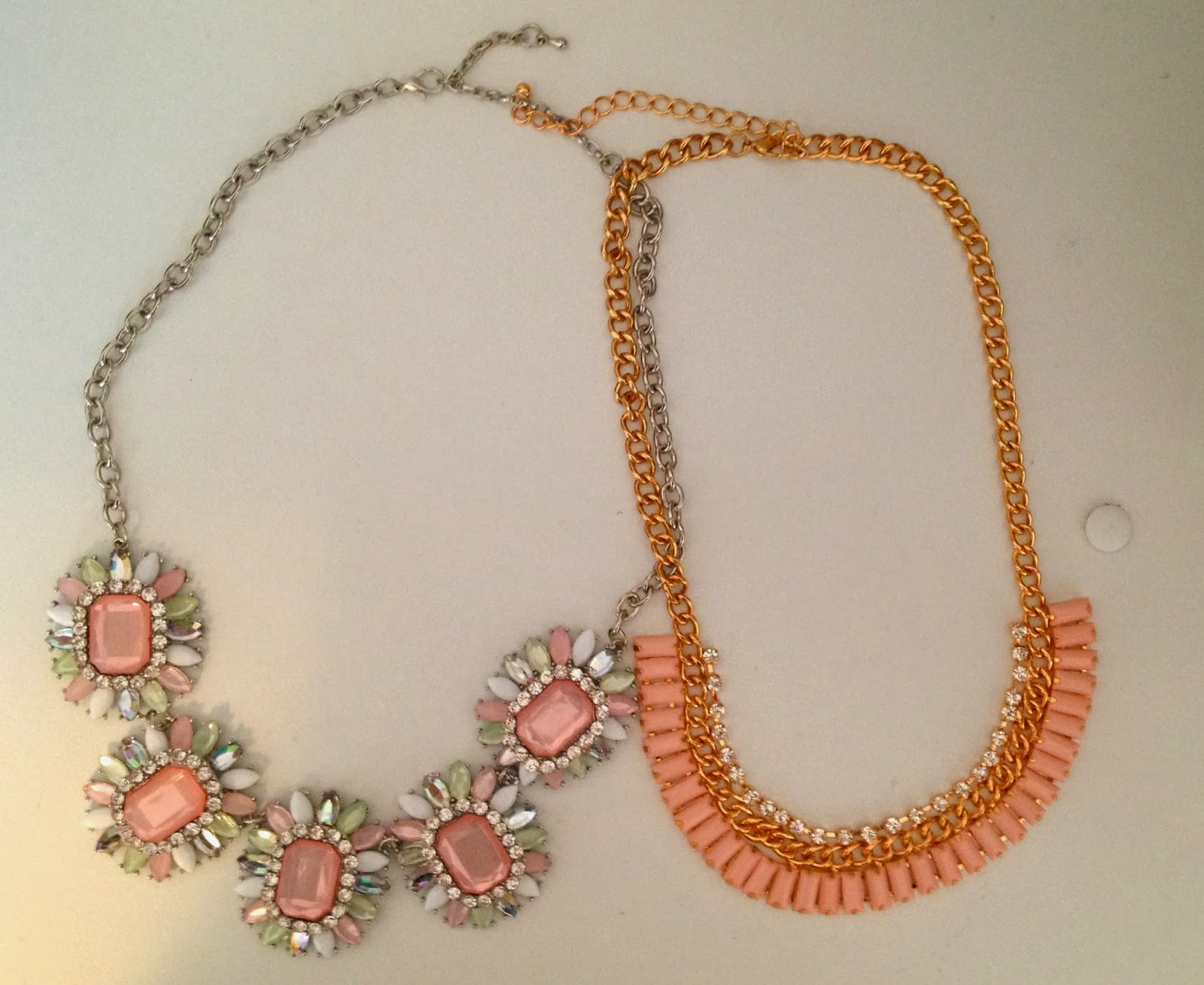 Statement necklace from Costa Blanca