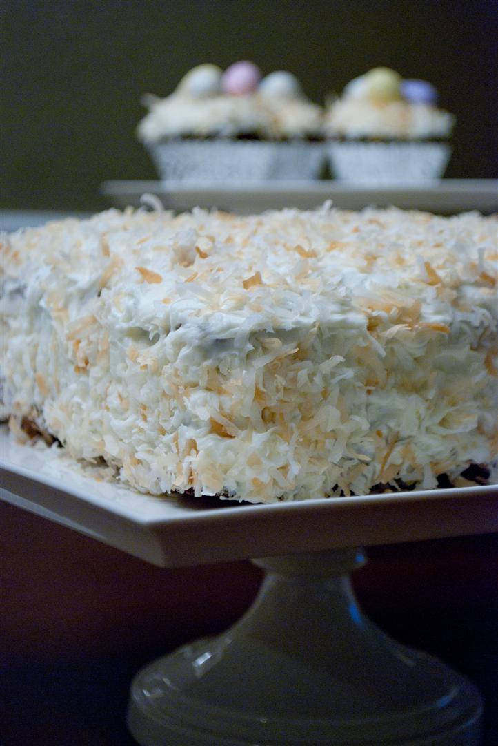 Craftyc0rn3r Coconut Hummingbird Cake