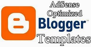template blog adsense