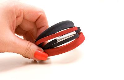 PLDesign biżuteria autorska skóra naturalna bransoletki skórzane zamówienia