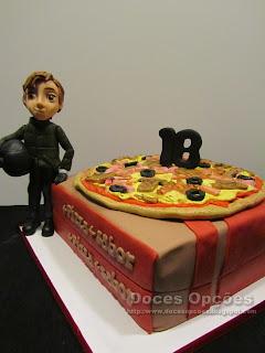 bolo festa de aniversário pizza bragança doces opções susana