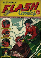 Flash Comics #3 comic pic