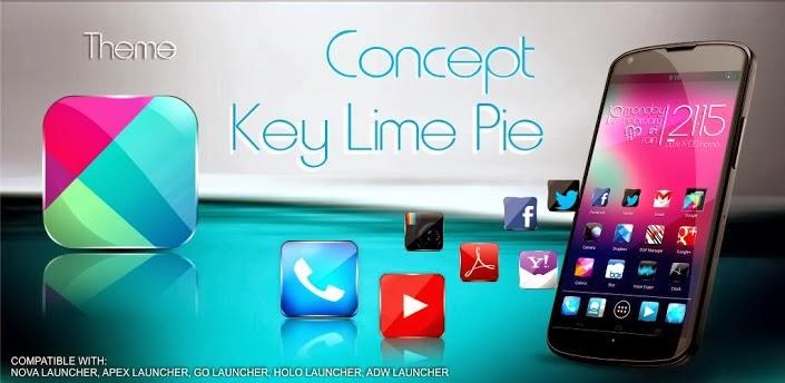Concept kitkat theme HD 7 in 1 v4.4.2 Apk