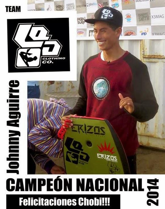 CAMPEÓN PERUANO DE BODYBOARD 2014