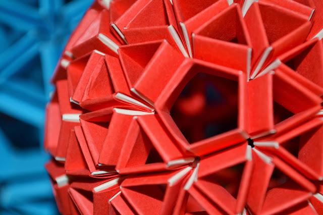 Kusudama Icosaedro truncado Heinz Strobl