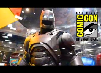 COMIC CON 2015 - BATMAN VS SUPERMAN, CLIQUE AQUI: