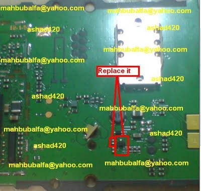 NOkia 1280 Light ic Jumper Solution Ways Free