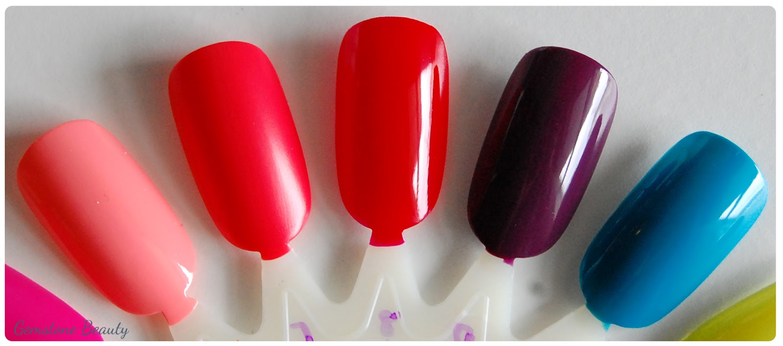 Gemstone Beauty: essence gel nail polish: Review + Swatches