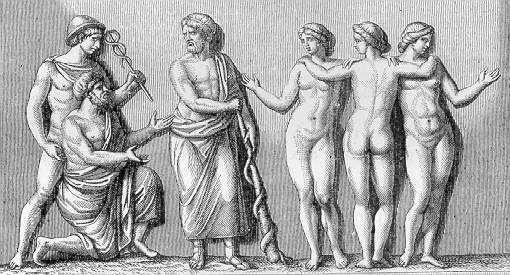 първичната спирала - тоягата на Асклепий