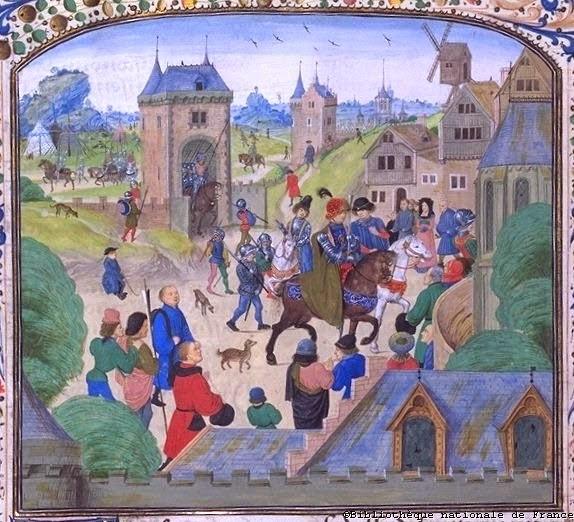 Captura de Orense por parte de los ingleses (1387)
